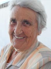 Portrait von Hermine Hrabovszky